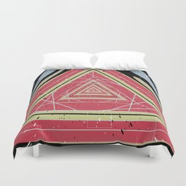 Coffee Table Exploration Duvet Cover
