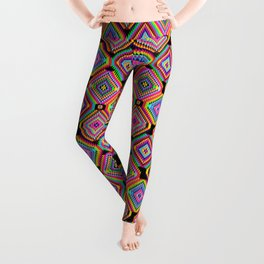 Neon Hookah Leggings
