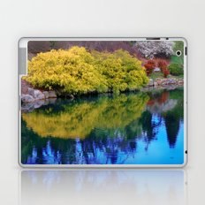 Pond at Ginter Laptop & iPad Skin