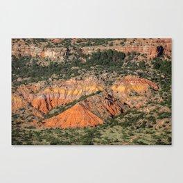 Palo Duro Canyon State Park Landscape Canvas Print
