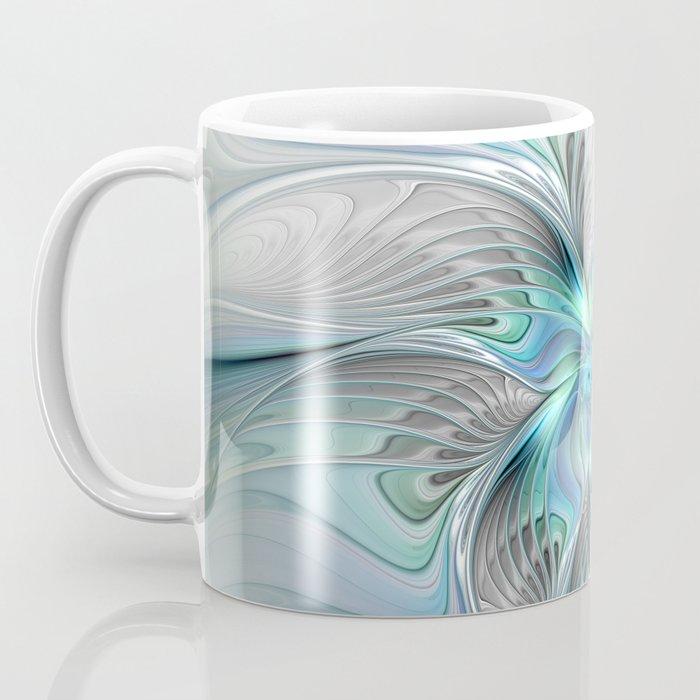 Abstract Butterfly, Fantasy Fractal Art Coffee Mug