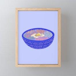 Bibimbap Bowl Framed Mini Art Print