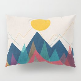 Uphill Battle Pillow Sham