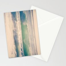 Green Spray Stationery Cards