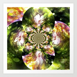 Magical Inspirations Of Spring Time Art Print