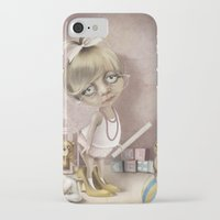teacher iPhone & iPod Cases featuring The teacher by daltrOnde
