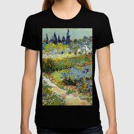 Vincent van Gogh Garden at Arles T-shirt