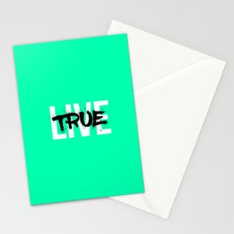Live True Stationery Cards