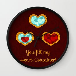 HEART CONTAINER Wall Clock