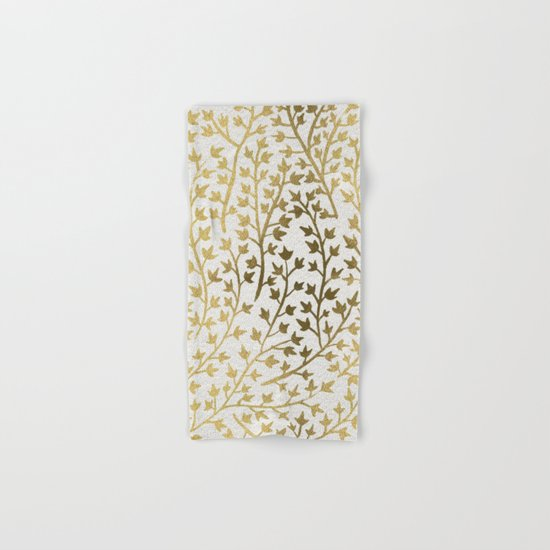 Gold Ivy Hand & Bath Towel