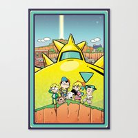 earthbound Canvas Prints featuring We Are Earthbound by TavisMaiden