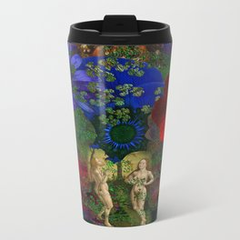 Adam and Eve's Harmonious Earth Travel Mug