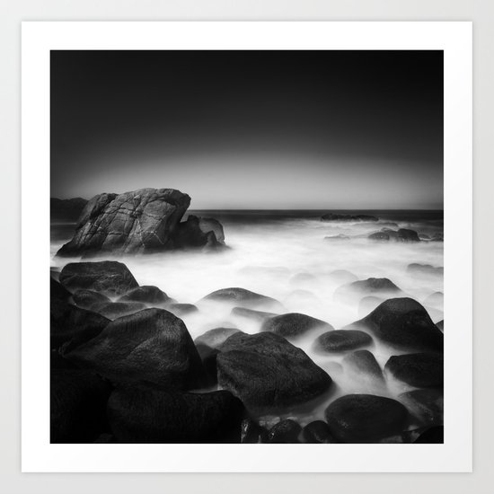 Time on the Rocks Art Print