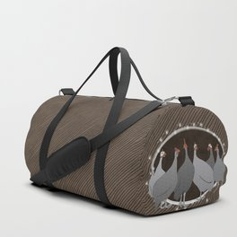 Helmeted Guineafowl Duffle Bag