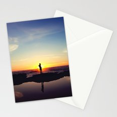 Sunset Music Stationery Cards