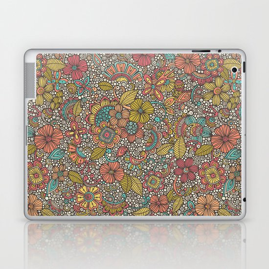 Doodles Garden Laptop & iPad Skin