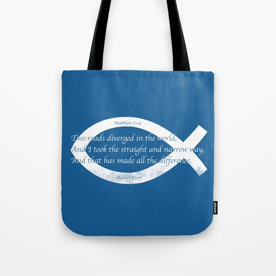 Diverged Tote Bag