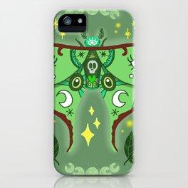 Lunar Moth iPhone Case