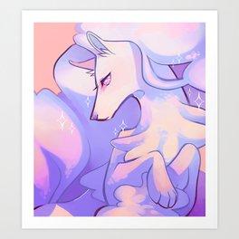 ninetales Art Print