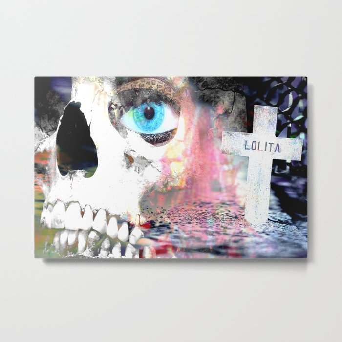 """""""Dead Lolita"""" Metal Print"""