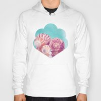 seashell Hoodies featuring Seashell Group by INA FineArt
