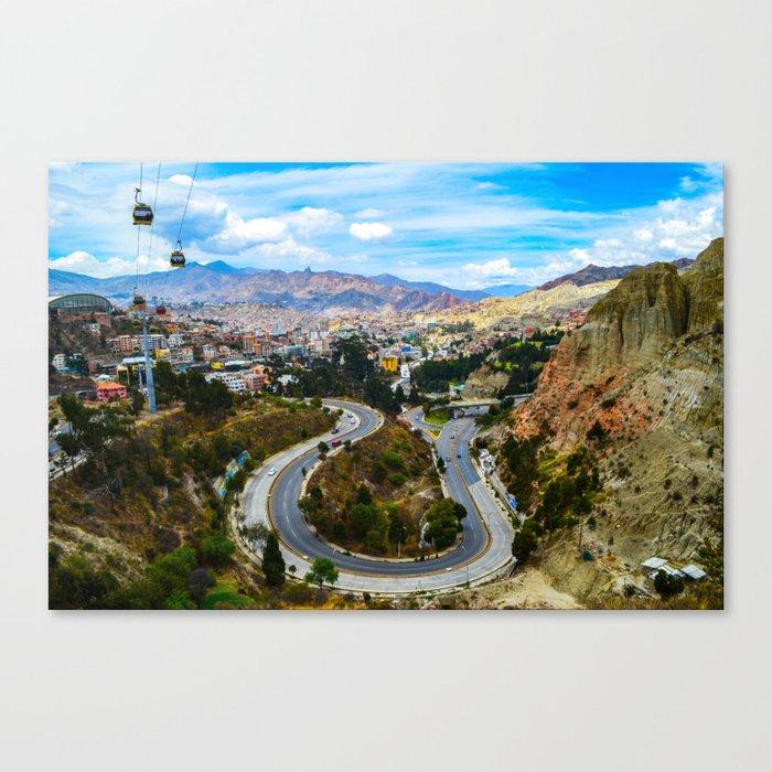La Paz, Bolivia Canvas Print