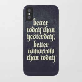 be better iPhone Case