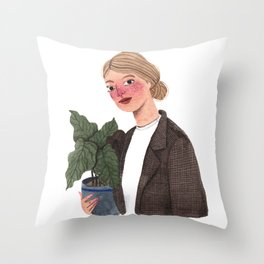 Antonieta Throw Pillow