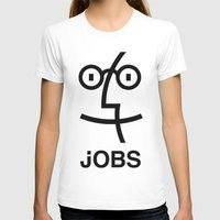 steve jobs T-shirts featuring JOBS by Mr. Pandastic