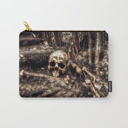 Bones In The Forest Carry-All Pouch