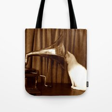 Her Mistresses Voice Tote Bag