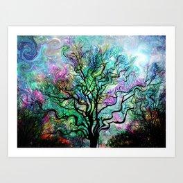 Van Gogh's Aurora Borealis Art Print