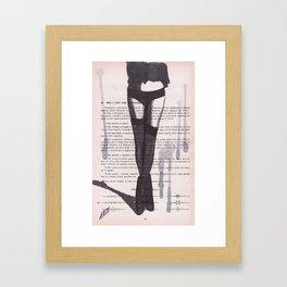 Lesson XXXI Framed Art Print