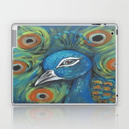 Peacock Head Laptop & iPad Skin