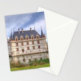 Chateau d'Azay-le-Rideau in Loire Valley, France. Stationery Cards