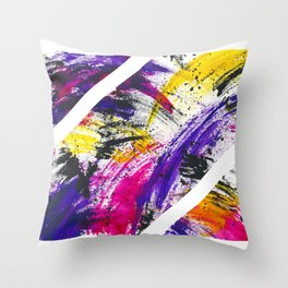 Trippin 80's Style Throw Pillow