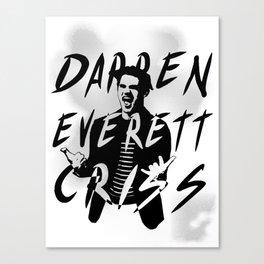 Darren Criss Canvas Print