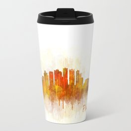 Phoenix Arizona, City Skyline Cityscape Hq v3 Travel Mug