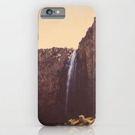 High Desert Waterfall iPhone Case