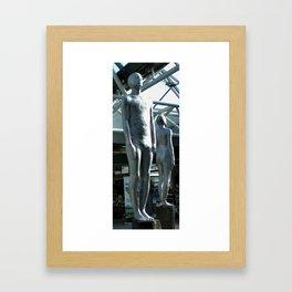 Tall Man, Reykjavík Airport Framed Art Print