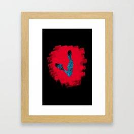 Subject Zero/Jack (Mass Effect) Framed Art Print