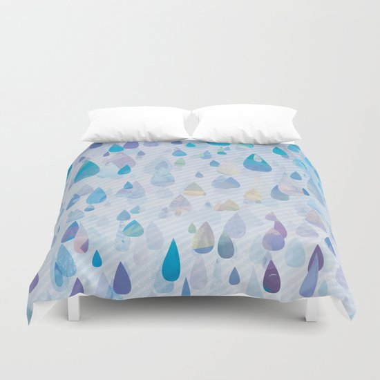 Storms may come Duvet Cover