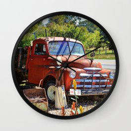 Old Dodge Truck Wall Clock