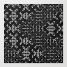 Swazi pattern 02 Canvas Print