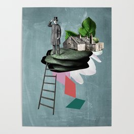 Surreal Collage Poster