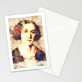 George Eliot Pop Art Stationery Cards