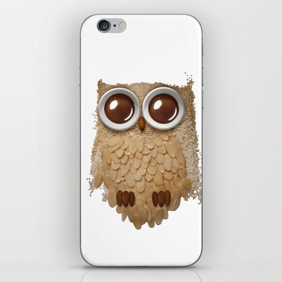 Owl Collage #6 iPhone & iPod Skin