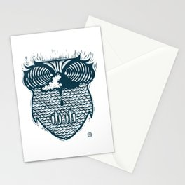 owl wave Stationery Cards