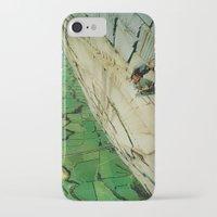 vertigo iPhone & iPod Cases featuring vertigo by Jesse Treece