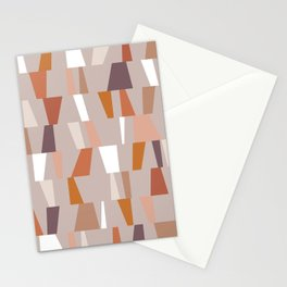 Neutral Geometric 03 Stationery Cards